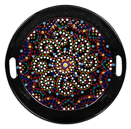 Salt Lake City Mosaic Mandala Tray