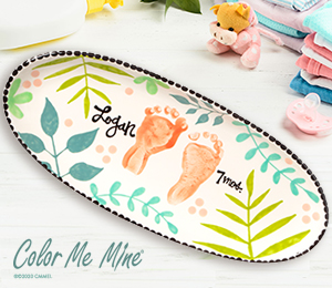 Salt Lake City Tropical Baby Tray