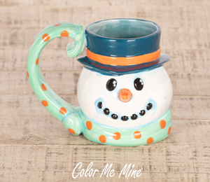 Salt Lake City Snowman Mug